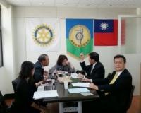 20140225 台灣扶輪之光特別委員會 多媒體,場地組等會議